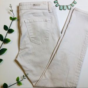 Kut from the Kloth White Denim Jeans